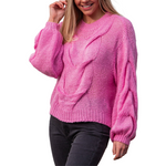 Load image into Gallery viewer, Stasi Knit - Candy Pink