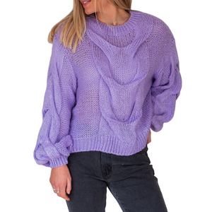 Stasi Knit - Vibrant Purple