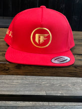 Load image into Gallery viewer, RED ATF SNAPBACK GOLD EDITION HAT
