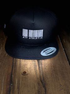 ATF BARCODE SNAP BACK BLACK AND WHITE