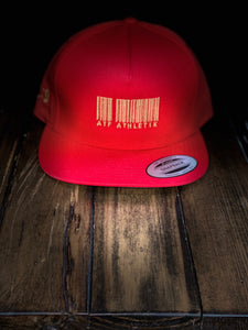 ATF BARCODE SNAP BACK GOLD EDITION RED