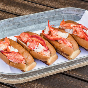 4 pack of prepared lobster rolls
