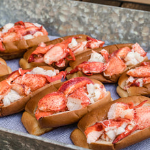 Load image into Gallery viewer, 8 pack kit of fresh Maine lobster rolls