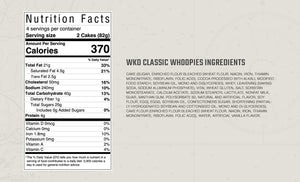 Classic Maine whoopie pie ingredients and nutritional information