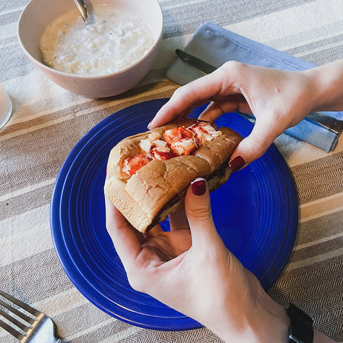 lobster roll and clam chowder kit
