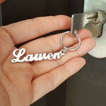Load image into Gallery viewer, Custom Name Keychains