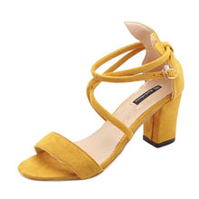 Load image into Gallery viewer, DAISY Summer Ladies High Heel Sandal