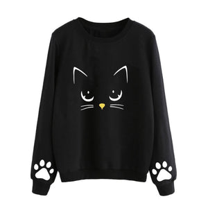 Women's Long Sleeves Shirt Harajuku Kawaii