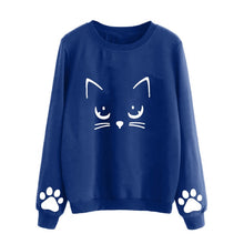 Load image into Gallery viewer, Women's Long Sleeves Shirt Harajuku Kawaii
