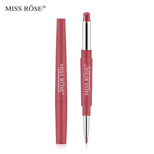 2 In 1 Lip Liner Pencils Waterproof Lipstick