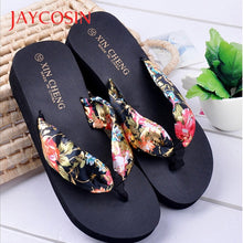 Load image into Gallery viewer, Women Summer Boho Wedge Style Sandal