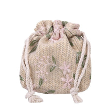 Load image into Gallery viewer, DAISY  Weave Bucket Crossbody Bag