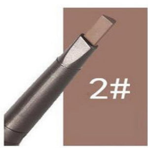 2 in 1 Makeup Sketch Liquid Eyebrow Pencil Waterproof