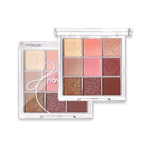 Load image into Gallery viewer, 9 Colors Eyeshadow Palette