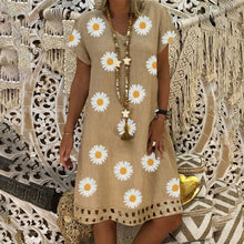 Load image into Gallery viewer, DAISY Cotton Midi Summer Dress