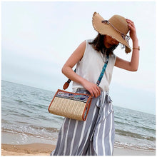 Load image into Gallery viewer, Ethnic Mini Straw Bag
