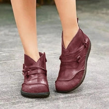 Load image into Gallery viewer, Winter Genuine Leather Ankle Boots