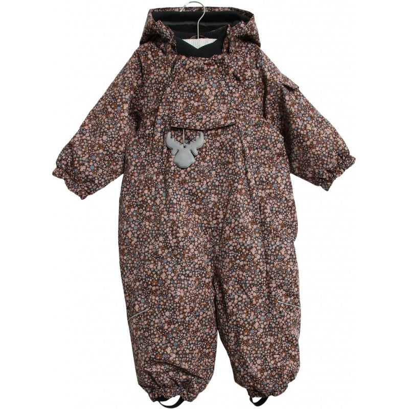 Wheat Snowsuit Adi Tech Dot Flowers