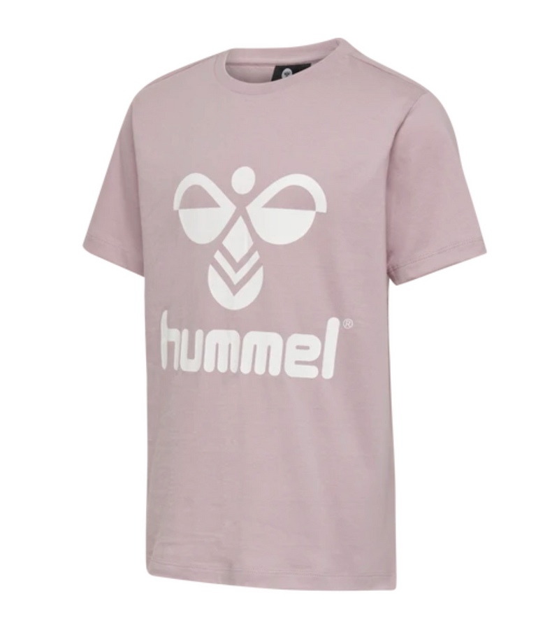 Hummel Tres Tee Shirt S/S Mauve Shadow-Mauve Shadow