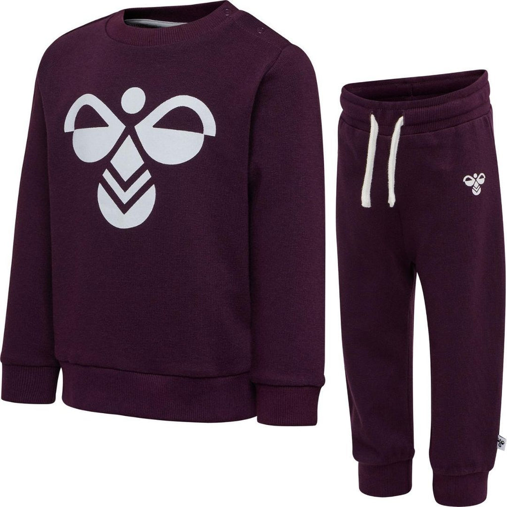 Hummel Arin Crewsuit Blackberry Wine