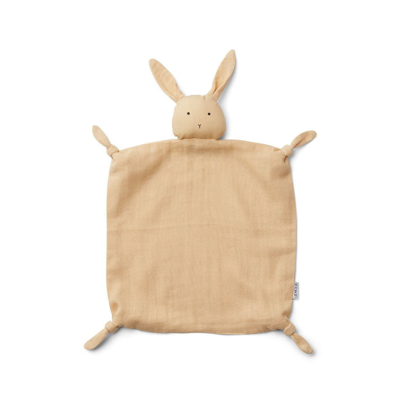 Liewood Agnete Cuddle Cloth Rabbit Smoothie Yellow - Lillemaja