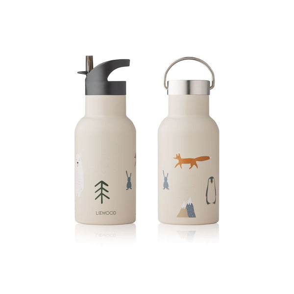 Liewood Anker Water Bottle Arctic Mix - Lillemaja