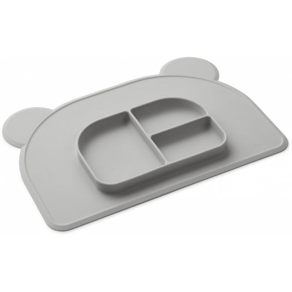 Liewood Oliver Placemat Dumbo Grey - Lillemaja
