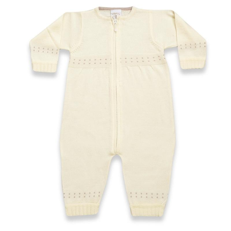 Babysuit thin basic, off-white, Lille Lam - Lillemaja