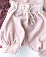 Huttelihut Shorts Velour Dusty Rose - Lillemaja