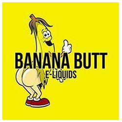 banana butt e liquid 50ml shortfill vape juice right cheek left
