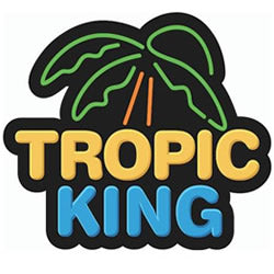 TROPIC KING E LIQUID 100ML SHORTFILL DRIP MORE VAPE JUICE CANDY UK SHOP