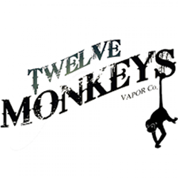 TWELVE MONKEYS NICOTINE SALT E LIQUID VAPE JUICE 10ML 20MG UK SHOP