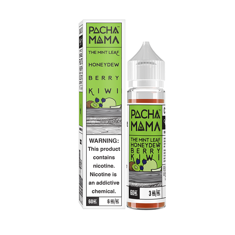 The Mint Leaf, Honey Dew and Berry Kiwi by Pacha Mama short fill