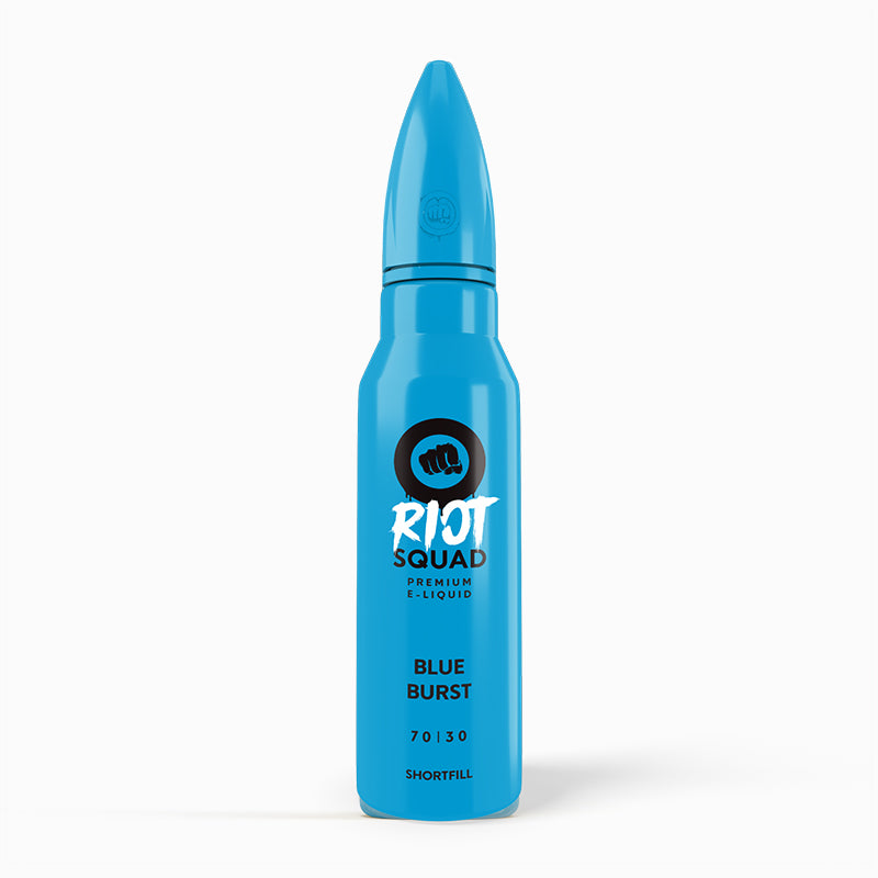 Blue Burst E-Liquid Shortfill by Riot Squad