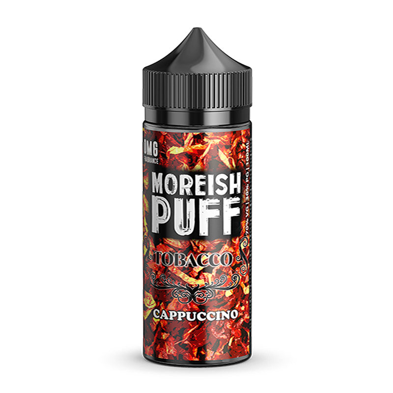 Cappuccino by Moreish Puff Tobacco Short Fill