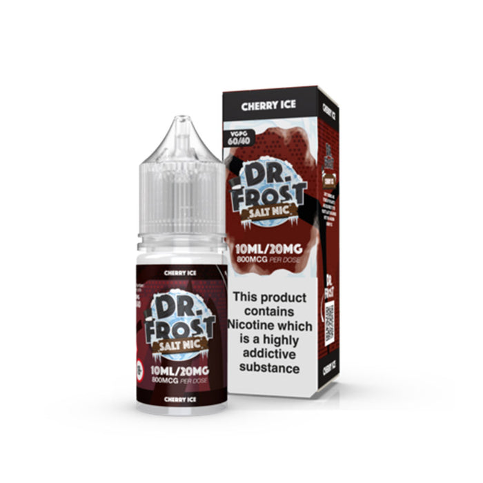 Cherry Ice Nicotine Salt E-Liquid by Dr Frost