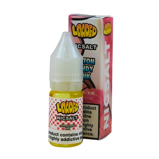 Pink Cotton Candy Nicotine Salt E-Liquid by Loaded NicSalt