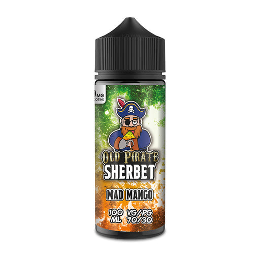 Mad Mango E-Liquid Shortfill by Old Pirate Sherbet