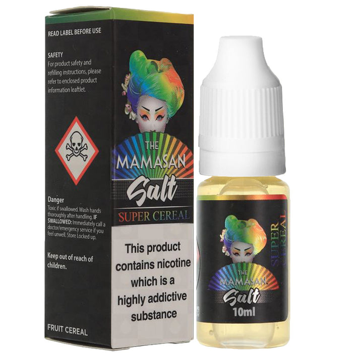 Super Cereal Nicotine Salt E-Liquid by The Mamasan Salt
