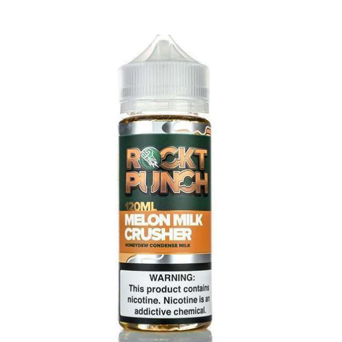 Melon Milk Crusher 100ml E-Liquid Shortfills by OKAMI Rockt Punch