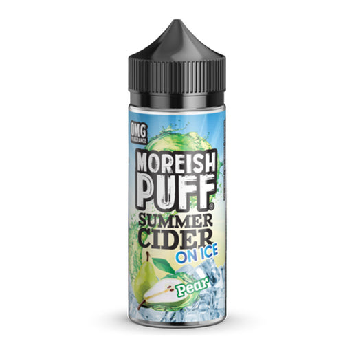 Pear Summer Cider On Ice E-Liquid Shortfill by Moreish Puff