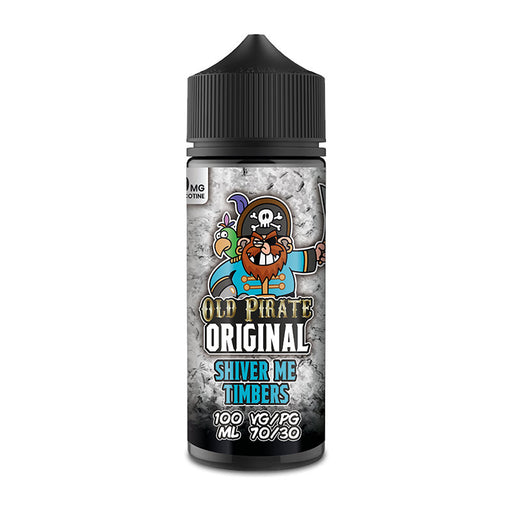 Shiver Me Timbers E-Liquid Shortfill by Old Pirate Original