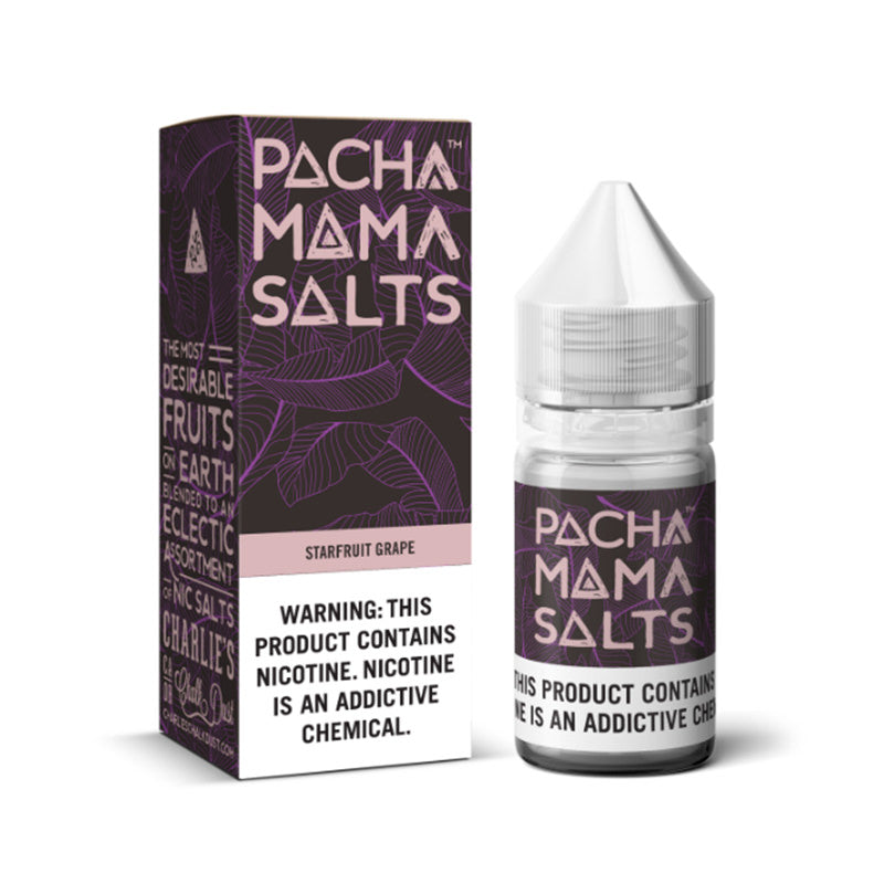 Starfruit Grape Nic Salt E-Liquid By Pacha Mama