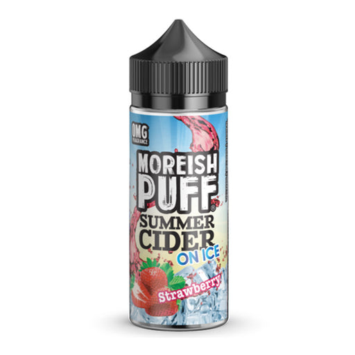 Strawberry Summer Cider On Ice E-Liquid Shortfill by Moreish Puff