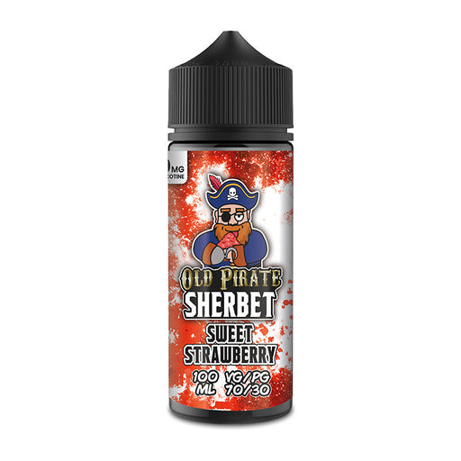 Sweet Strawberry E-Liquid Shortfill by Old Pirate Sherbet