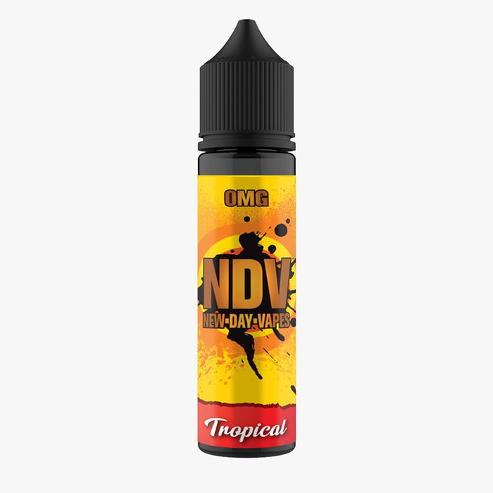 Tropical 50ml E-Liquid Shortfills by New Day Vapes