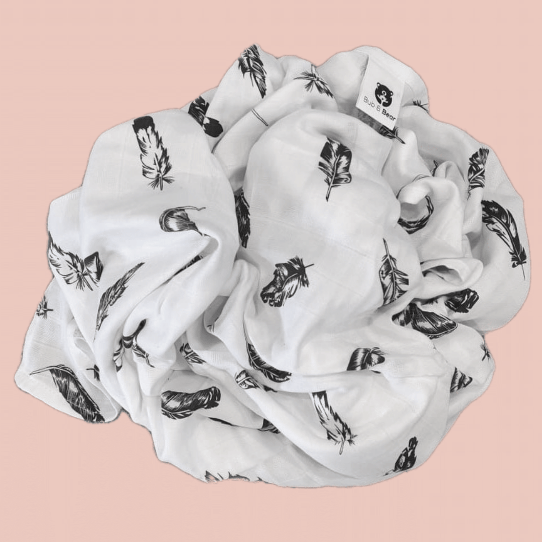 Feather - Organic Cotton Muslin Swaddle Sheet