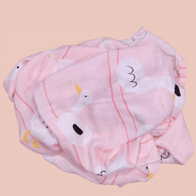 Load image into Gallery viewer, Little Duck - Premium Organic Cotton Muslin Swaddle Sheet