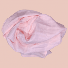 Load image into Gallery viewer, Pink - Organic Cotton Muslin Swaddle Sheet