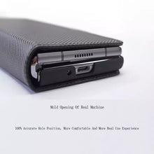 Load image into Gallery viewer, Samsung fold 2 Cover - Leather Magnetic Flip